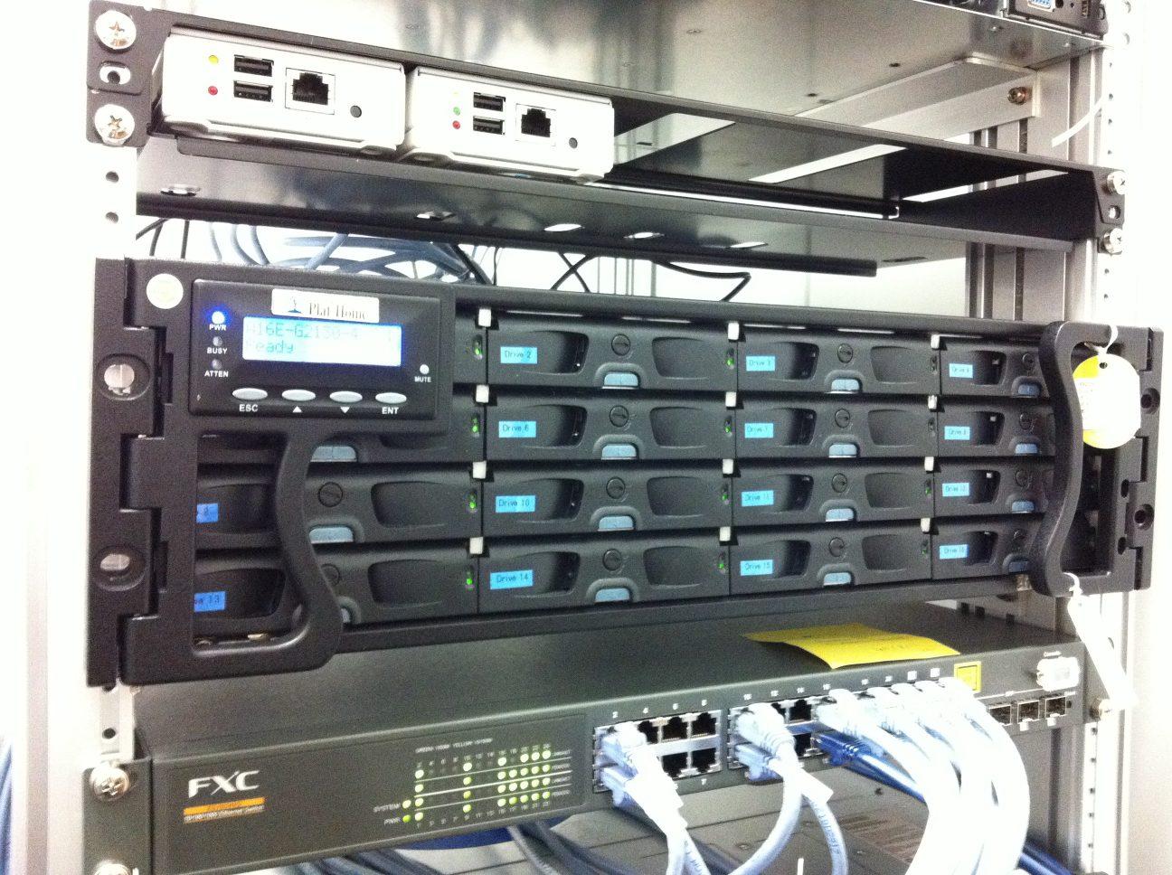 Rackmount RAID storage