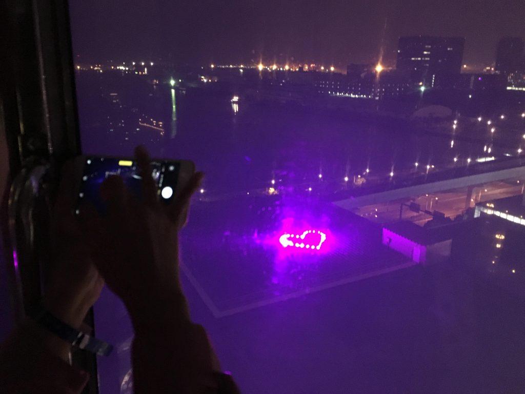 パレットタウン大観覧車から見える謎のハート