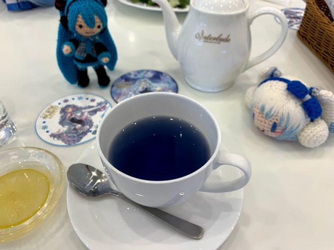 雪ミクコラボの紅茶(名前忘れた)
